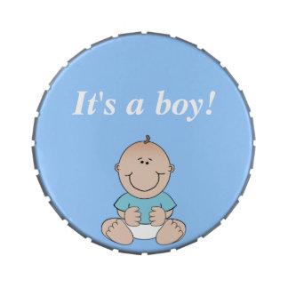"""It's a boy!"" Jelly Belly Tin"
