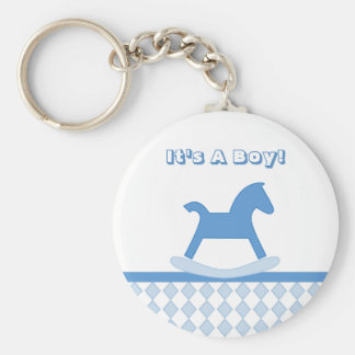 It's A Boy! Keychain