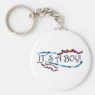 Its a Boy Keychain