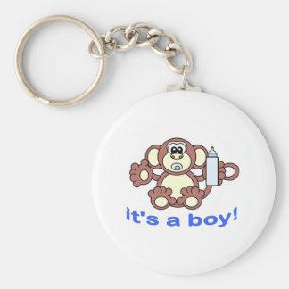 Its A BOY! Keychain