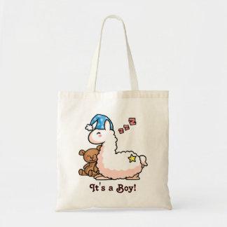 It's a Boy Llama! Bags