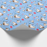 It's a Boy Llama! Wrapping Paper