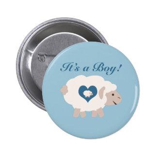 It's a Boy! Mama Sheep Pin