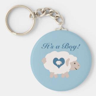 It's a Boy! Mama Sheep Key Chain
