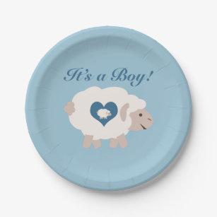 Mama Sheep Paper Plate  sc 1 st  Zazzle & Sheep Plates   Zazzle