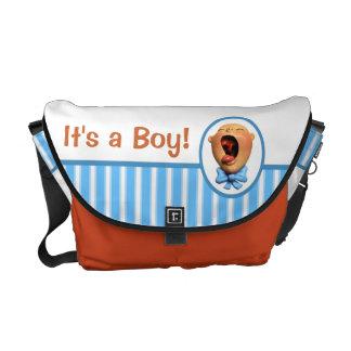 It's a Boy! Messenger Bag