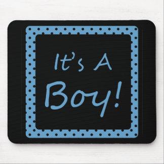 It's A Boy! Mouse Pad