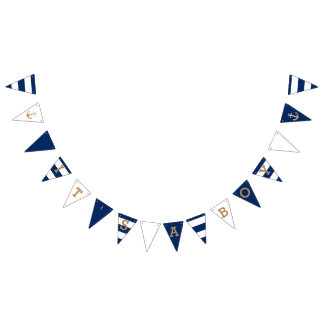 It's a Boy | Nautical Baby Shower Bunting Flags