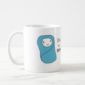 It's a Boy New Baby Birth Announcement Coffee Mug