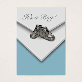 It's A Boy! New Baby Boy Birth Announcement Cards