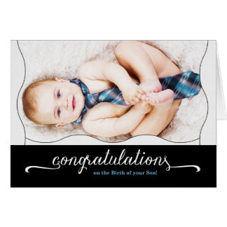 It's a Boy New Baby Congratulations Card