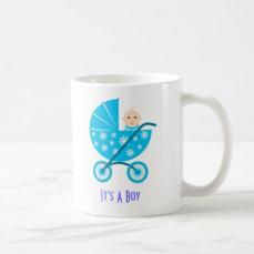 It's A Boy: Newborn Baby Save The Date Mug