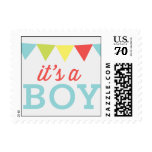 Its A Boy - Party Flags Stamps