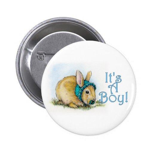 It's a Boy Pinback Buttons