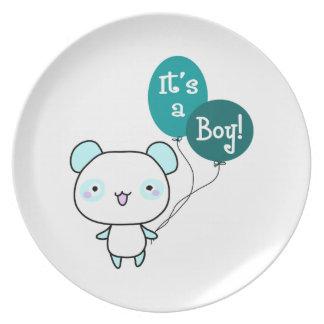 It's A Boy! Party Plate