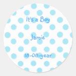 It's a boy! -polka dots sticker