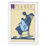 <It's a Boy> por el minero de Steve Felicitacion