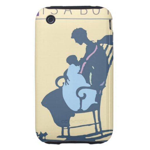 <It's a Boy> por el minero de Steve Tough iPhone 3 Carcasa