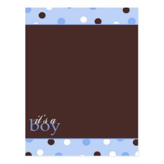 It's a Boy! Post Card