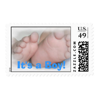 It's A Boy Postage
