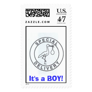 It's a BOY! Postage