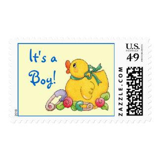 It's a Boy! Postage Stamp