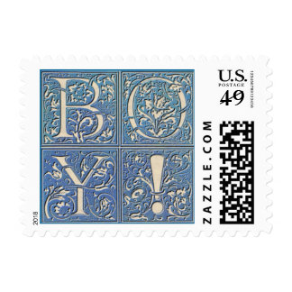 It's a Boy! Postage Stamp