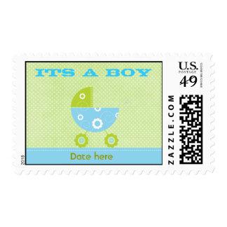 Its A Boy  Postage stamp