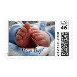 Its a Boy Postage Stamps