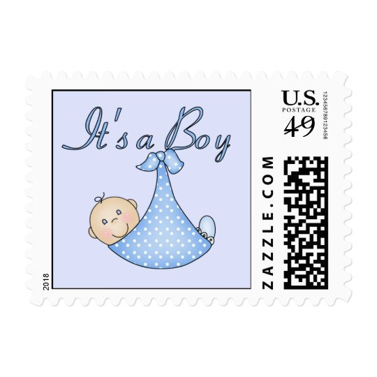 how many stamps for a letter it s a boy postage stamps zazzle 1281