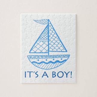 It's A Boy! Jigsaw Puzzle