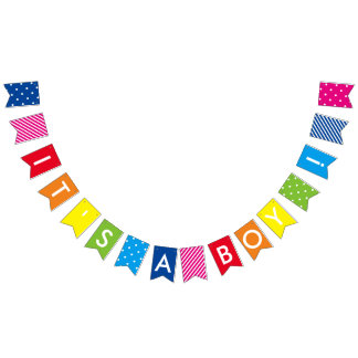 Bunting Banner for Baby Shower
