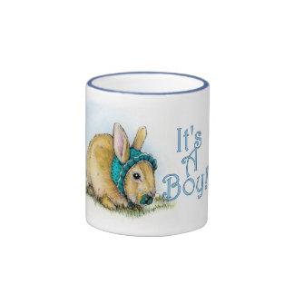 It's a Boy Ringer Coffee Mug