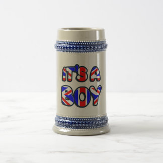 It's a Boy Royal baby Beer Stein
