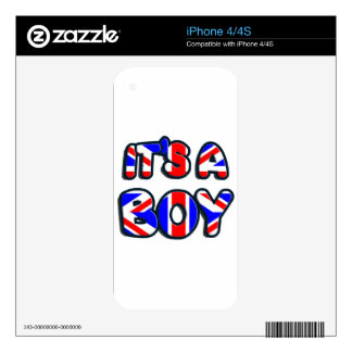 It's a Boy Royal baby iPhone 4 Decals