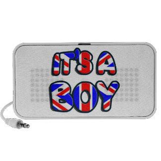 It's a Boy Royal baby iPhone Speaker