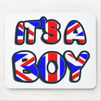 It's a Boy Royal baby Mouse Pad