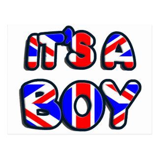 It's a Boy Royal baby Postcard