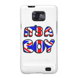 It's a Boy Royal baby Samsung Galaxy SII Cover