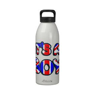 It's a Boy Royal baby Water Bottles
