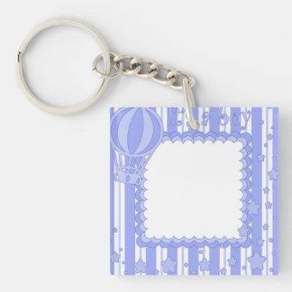 It's a boy Single-Sided square acrylic keychain