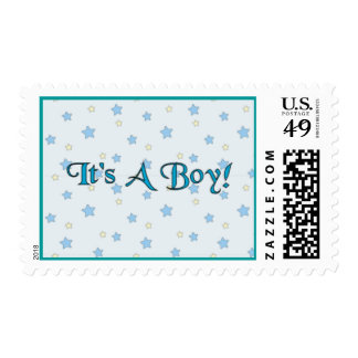 Its A Boy Stamp