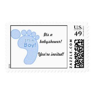 Its a boy! stamp
