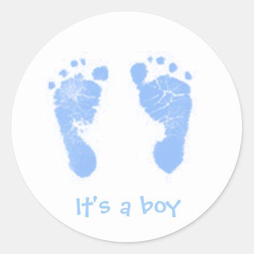 It's a boy! - sticker