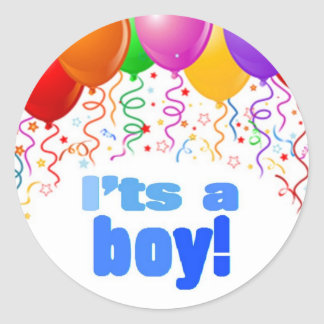It's a boy! sticker