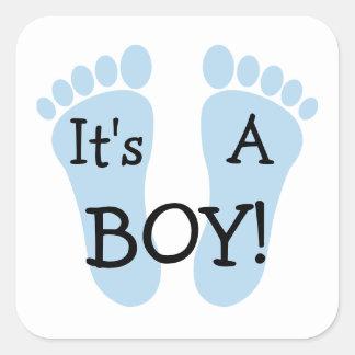 It's A Boy Sticker