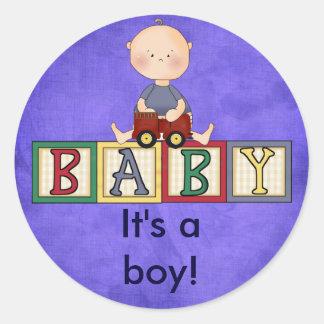 Its a boy stickers