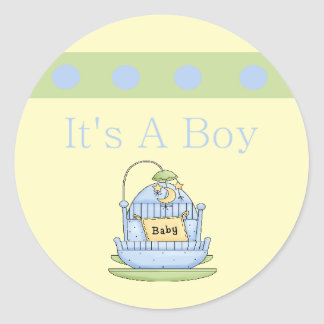 Its A Boy Stickers and Envelope Seals