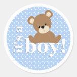 It's a Boy Teddy Bear Sticker