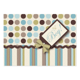 It's a Boy! Thank You Notecard Large Business Cards (Pack Of 100)